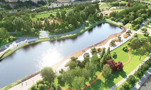В Северном Бутове построят рельефный парк