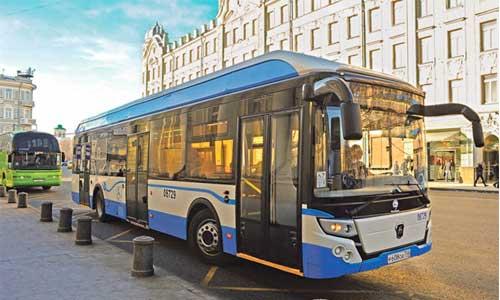Первые электробусы