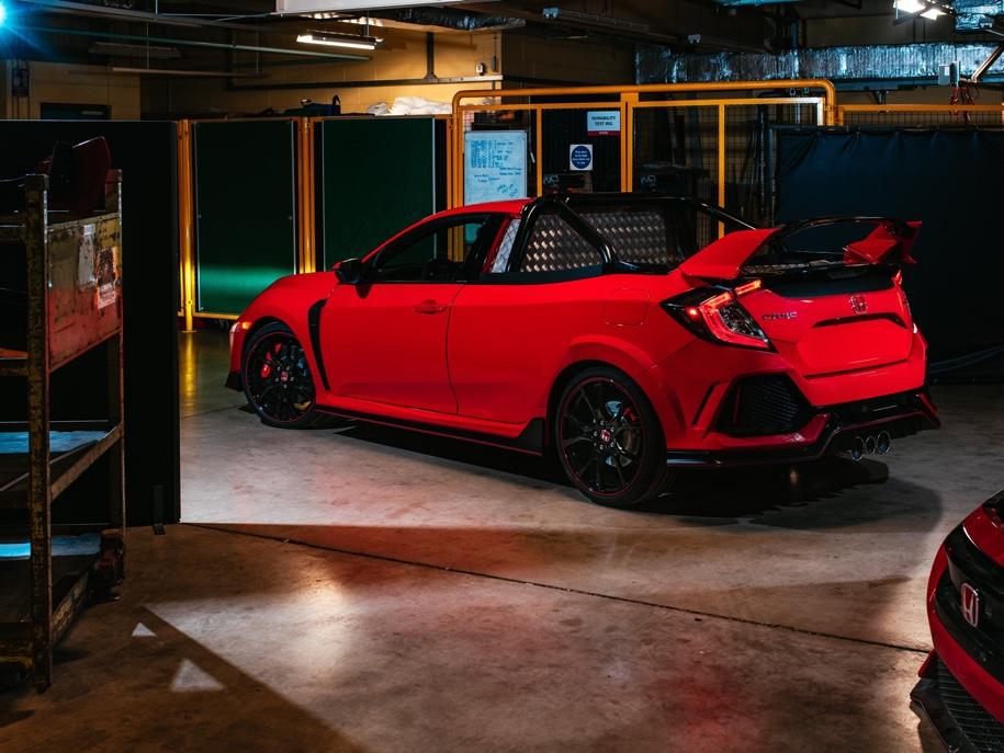 Honda построила «заряженный» пикап Civic Type R
