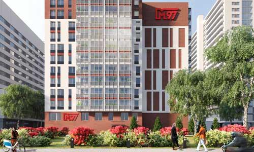 Старт продаж! Новый апарт-комплекс М97
