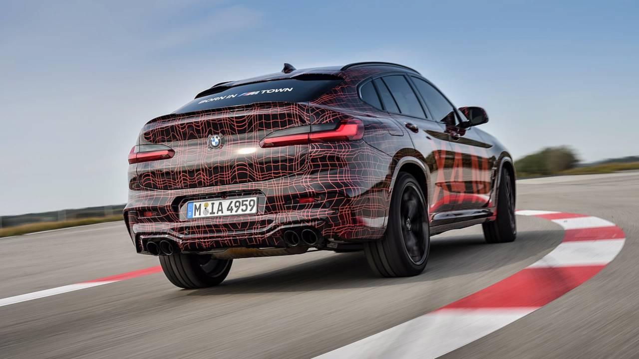 BMW X3 M, X4 M preview
