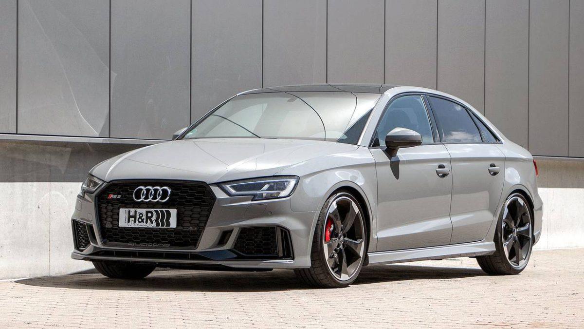 High Five: Audi RS 3 с H&R-пружины Резьба