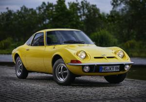 Opel GT 1900.