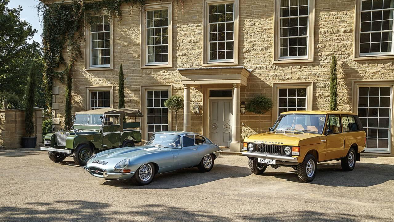 Fahrbericht: Jaguar/Land Rover Reborn-Modelle
