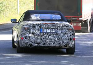 Erlkönig: BMW 4er Cabrio