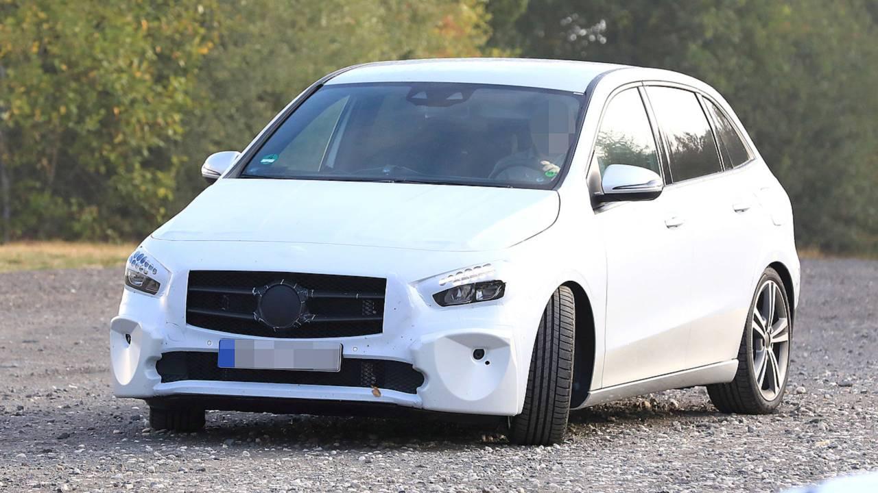 2019 Mercedes Benz B-Klasse Prototyp