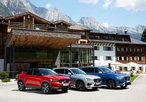 Familienbande: Volvo XC40, XC60 und XC90 (v.l).