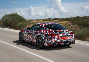 Das schnittige Design passt zu den technischen Werten des Sportwagens.