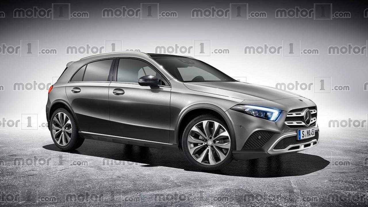 Mercedes GLA render