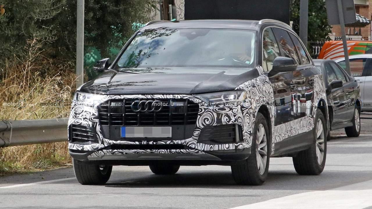Audi Q7 2019 Facelift Erlkönig