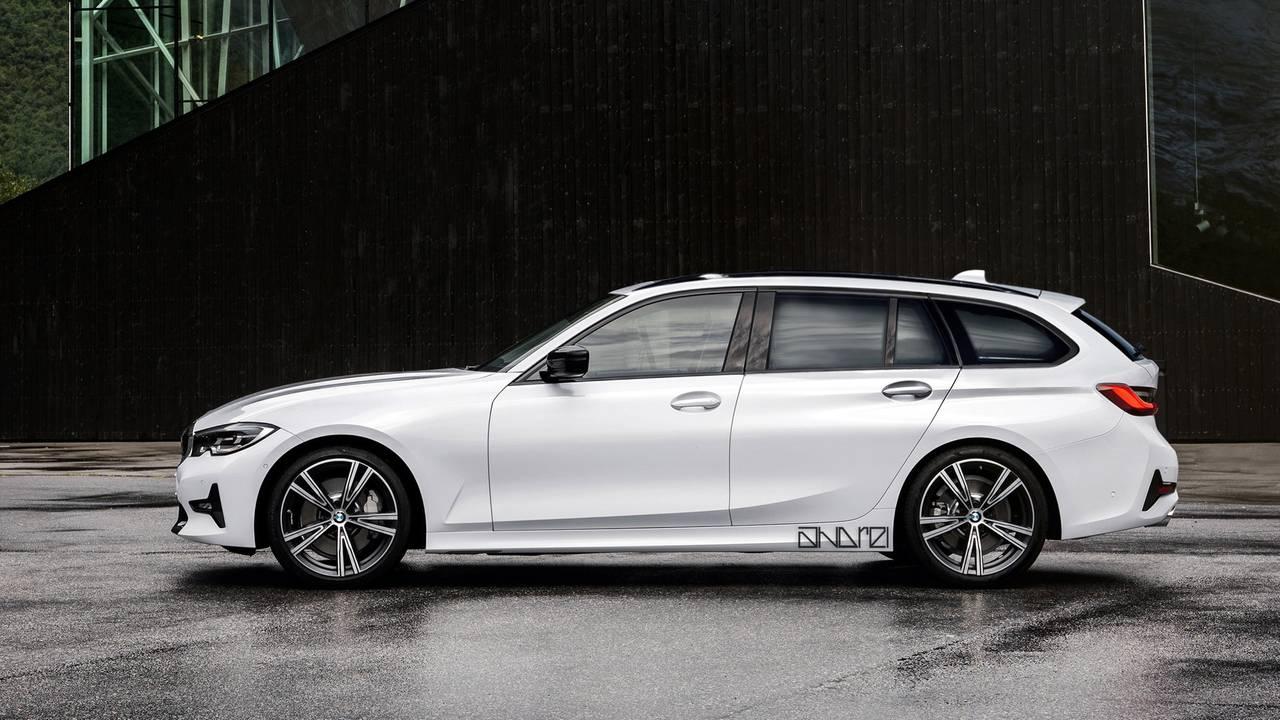 2020 BMW 3 Series Touring render