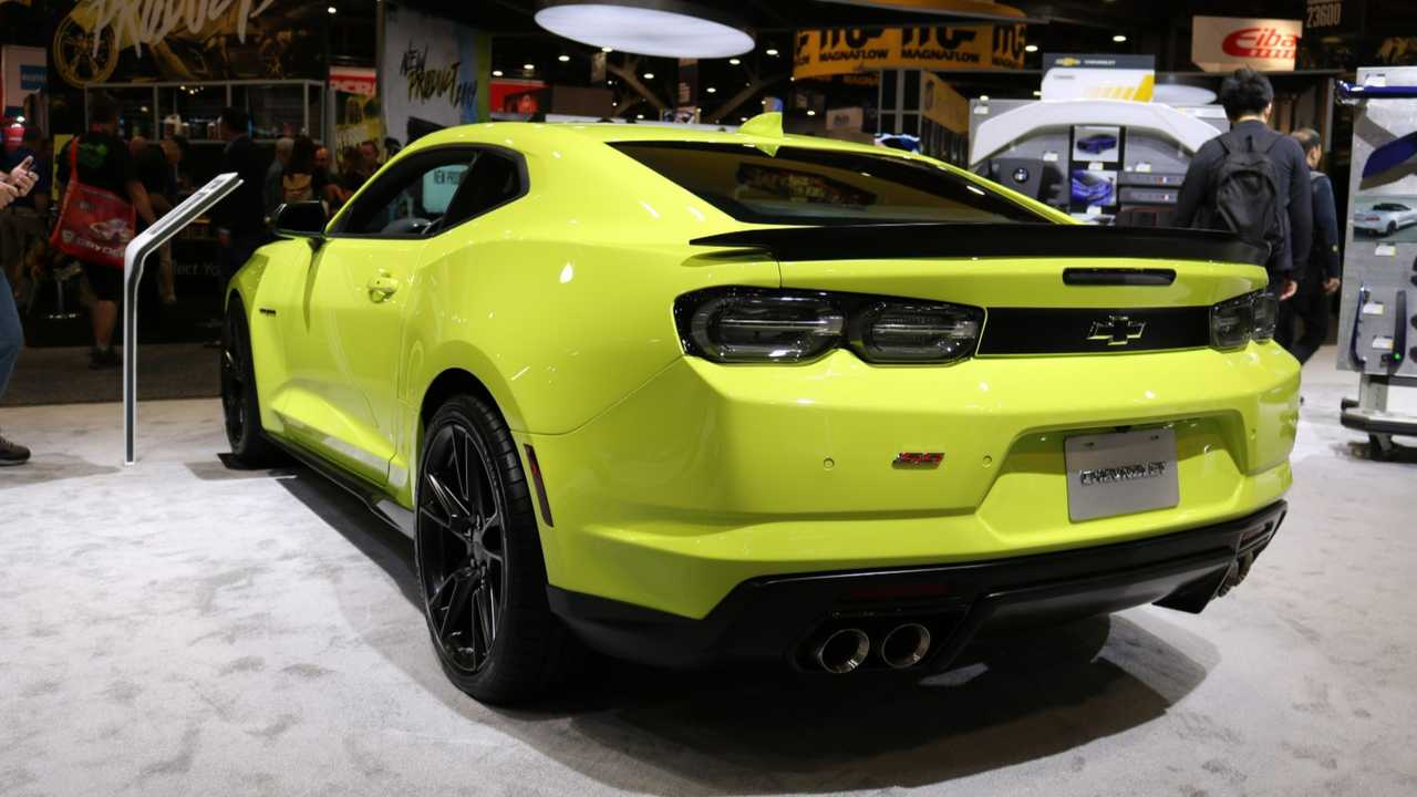 2019 Chevrolet Camaro Shock At SEMA