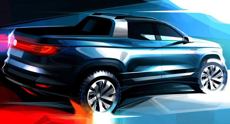 10/2018, VW MQB-Pick-up-Studie