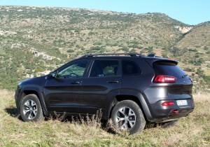 Jeep Cherokee Trailhawk 3,2 Liter.