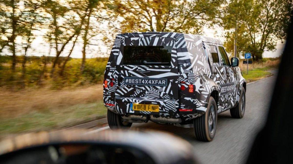 2020 Land Rover Defender >> Land Rover Defender (2020) впервые показывает финал кузова — Строительные СНИПы, ГОСТы, сметы, ЕНиР,