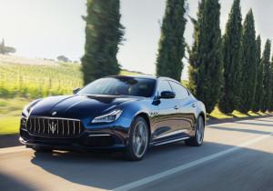 mid Groß-Gerau - Perfekte Proportionen: Der Maserati Quattroporte ist eine geglückte Kombination aus Limousine und Coupé.