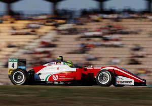 Mick Schumacher im Formel 3-Renner.