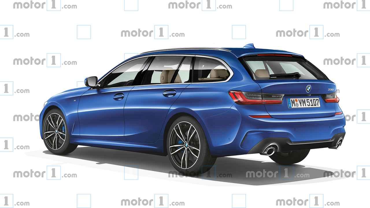 2019 BMW 3 Series Touring rendering