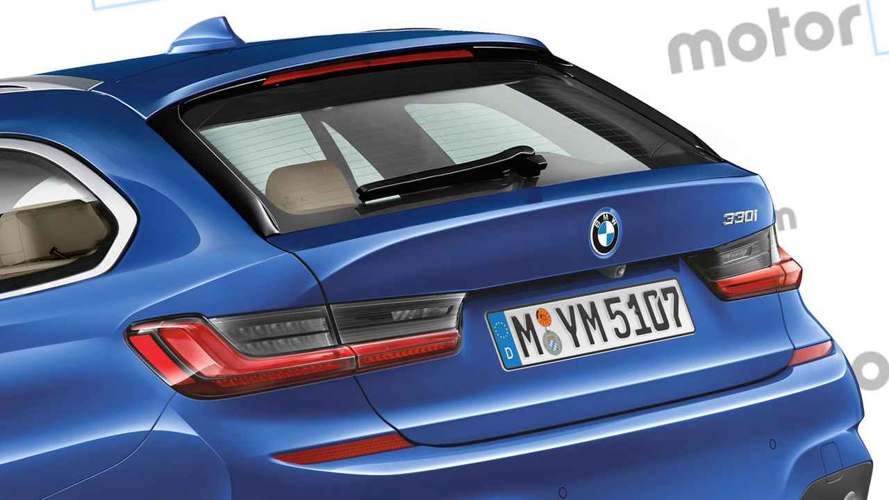 Nuova BMW 3 Series Touring, il rendering
