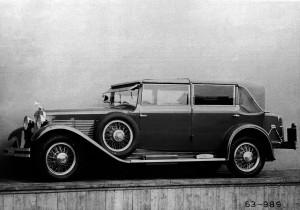 Skoda 860 Cabriolet (1932).
