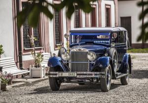 Skoda 860 Cabriolet von 1932.