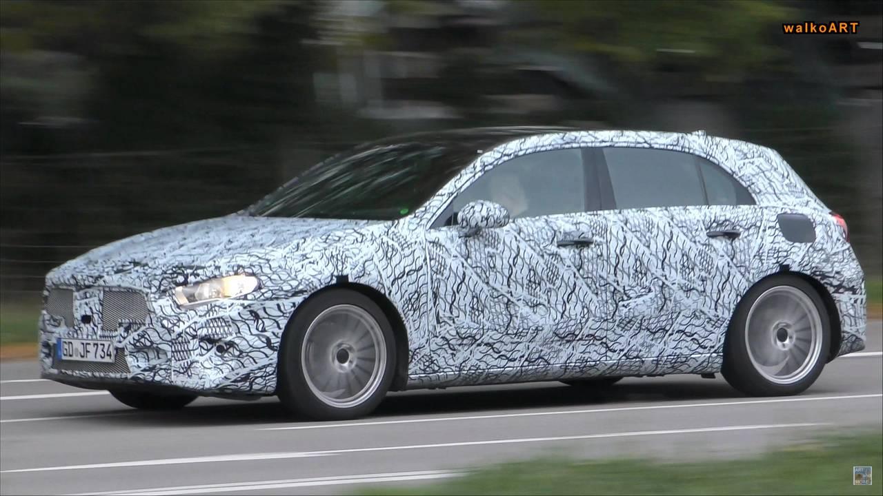 Mercedes-Benz EQA Test Mule