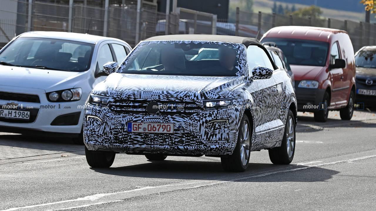 VW T-Roc Cabrio 2019 Erlkönig