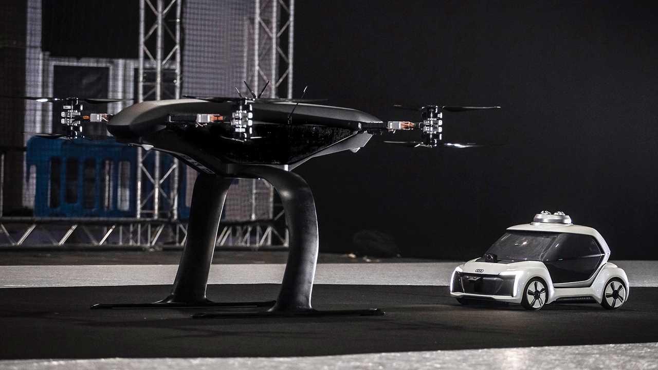 2019 Audi Pop.Up Next Prototype