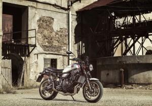 Yamaha XSR 700 X Tribute.