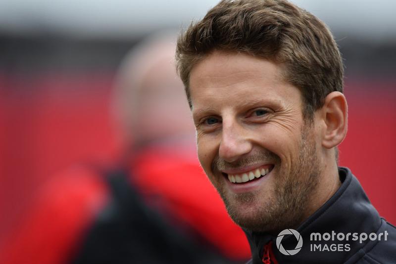 Romain Grosjean (2018)