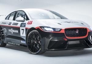 Jaguar I-Pace e-Trophy des Viessmann-Teams Germany.