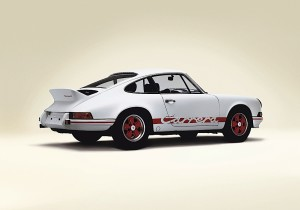 Porsche 911 Carrera RS 2.7 (1972).