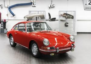 Porsche 911 (Typ 901, Bj. 1964).