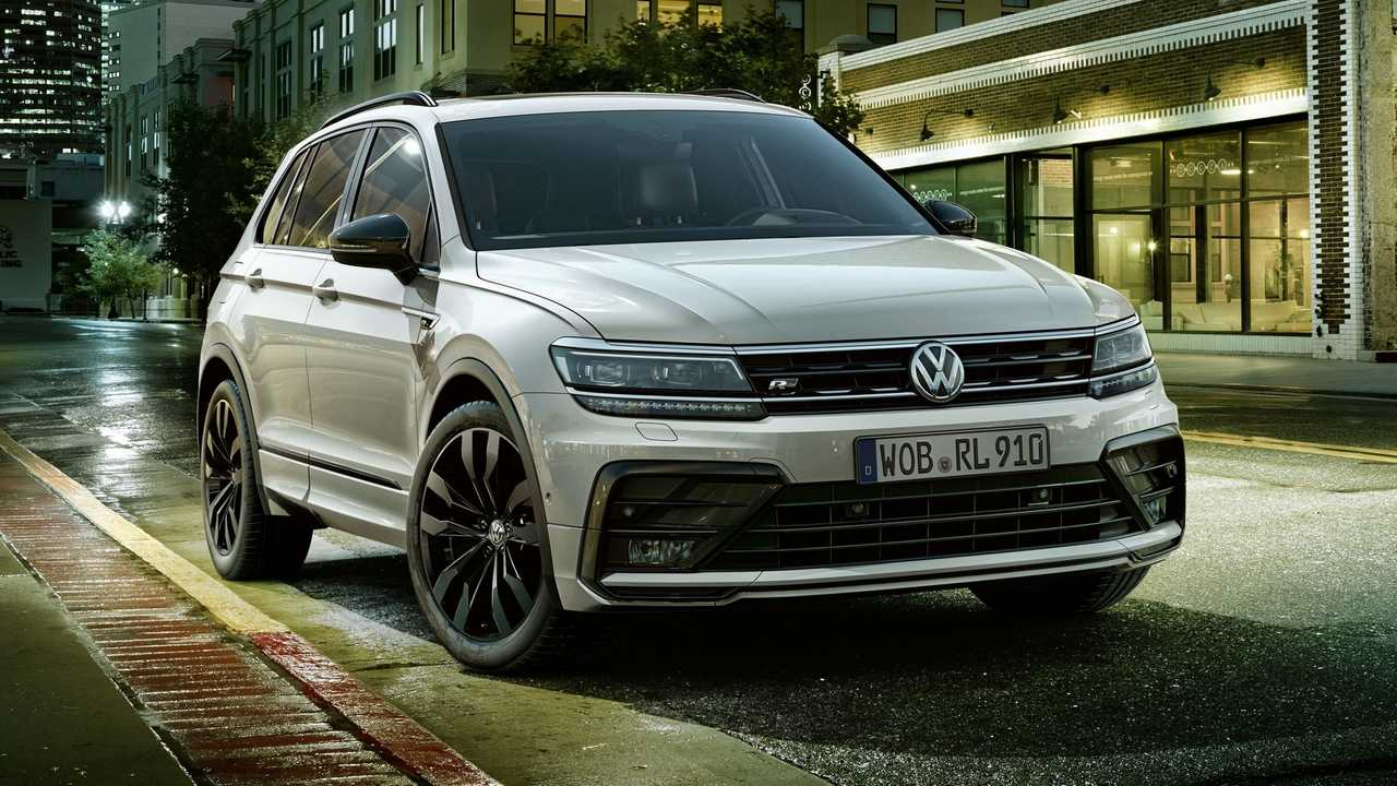 VW Tiguan Black Style R-Line design package