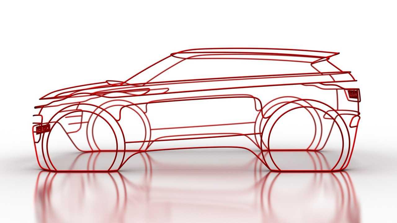 2020 Range Rover Evoque teaser