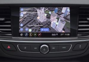 Infotainment-System Multimedia Navi Pro im Opel Insignia.