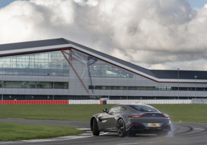 Aston Martin in Silverstone.