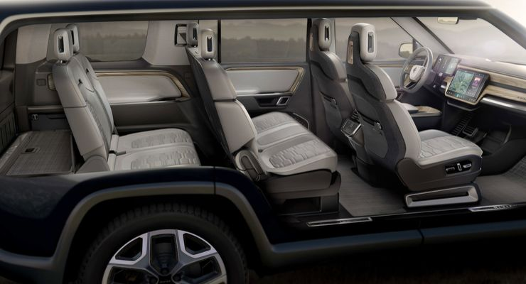 Rivian R1S EV SUV
