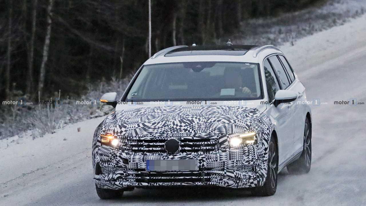 VW Passat Variant 2019 Erlkönig