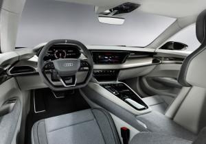 Audi e-Tron GT Concept.