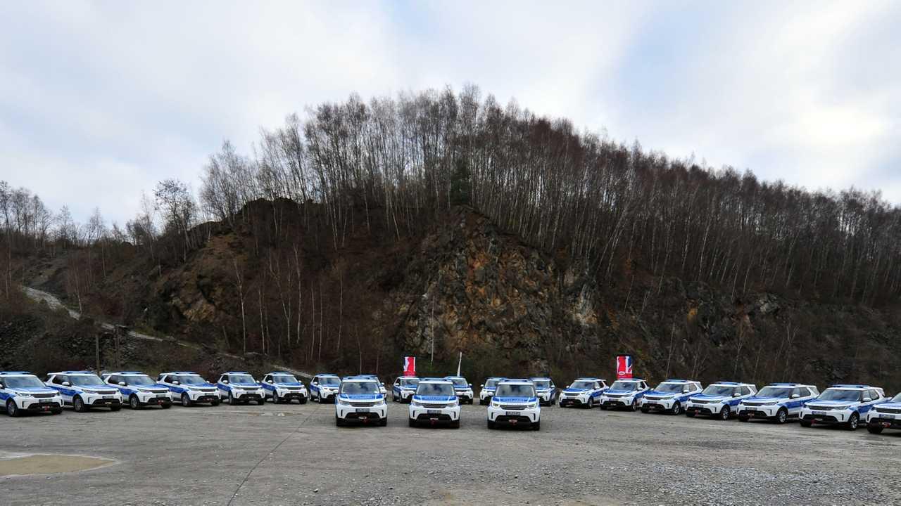 Land Rover Discovery Bundespolizei