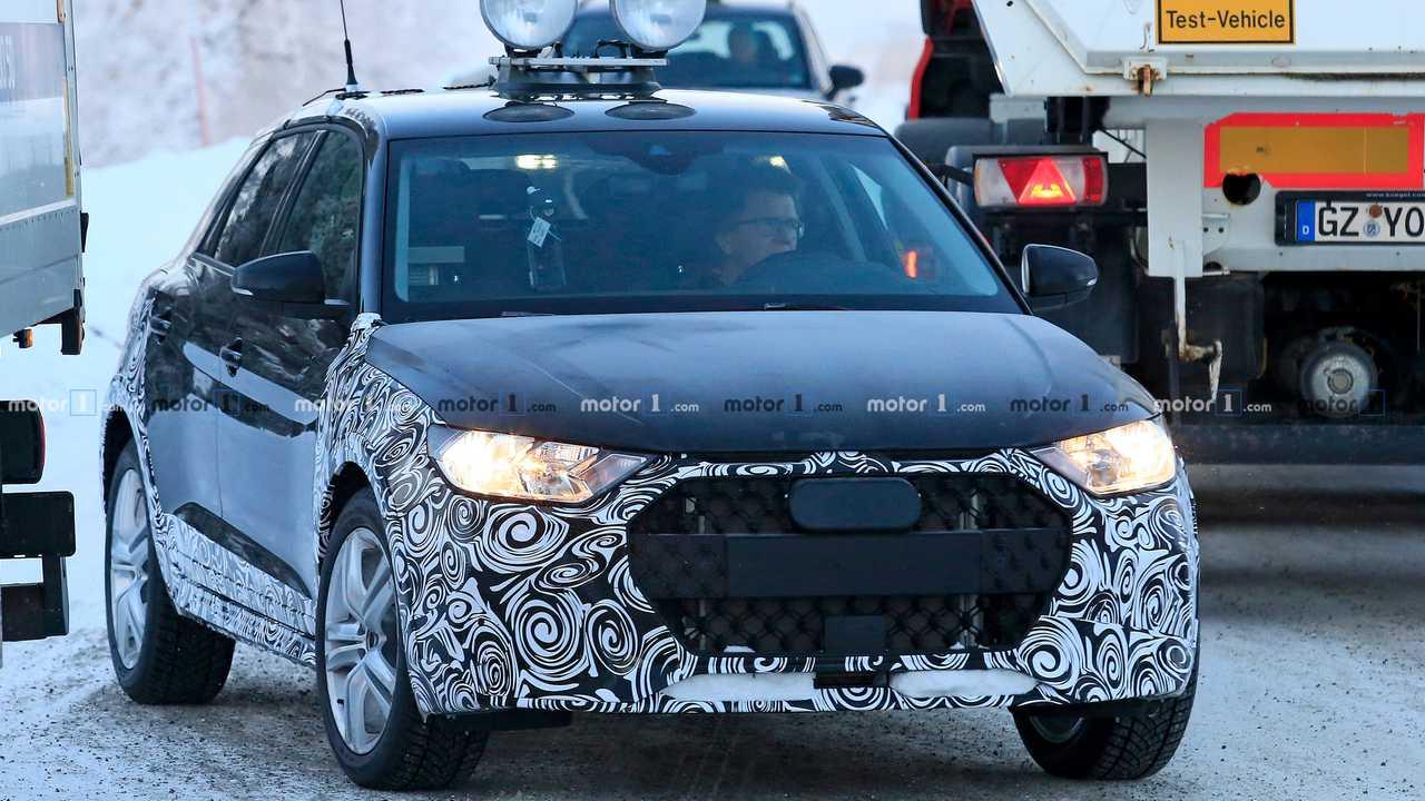 Audi A1 Allroad Spion Foto