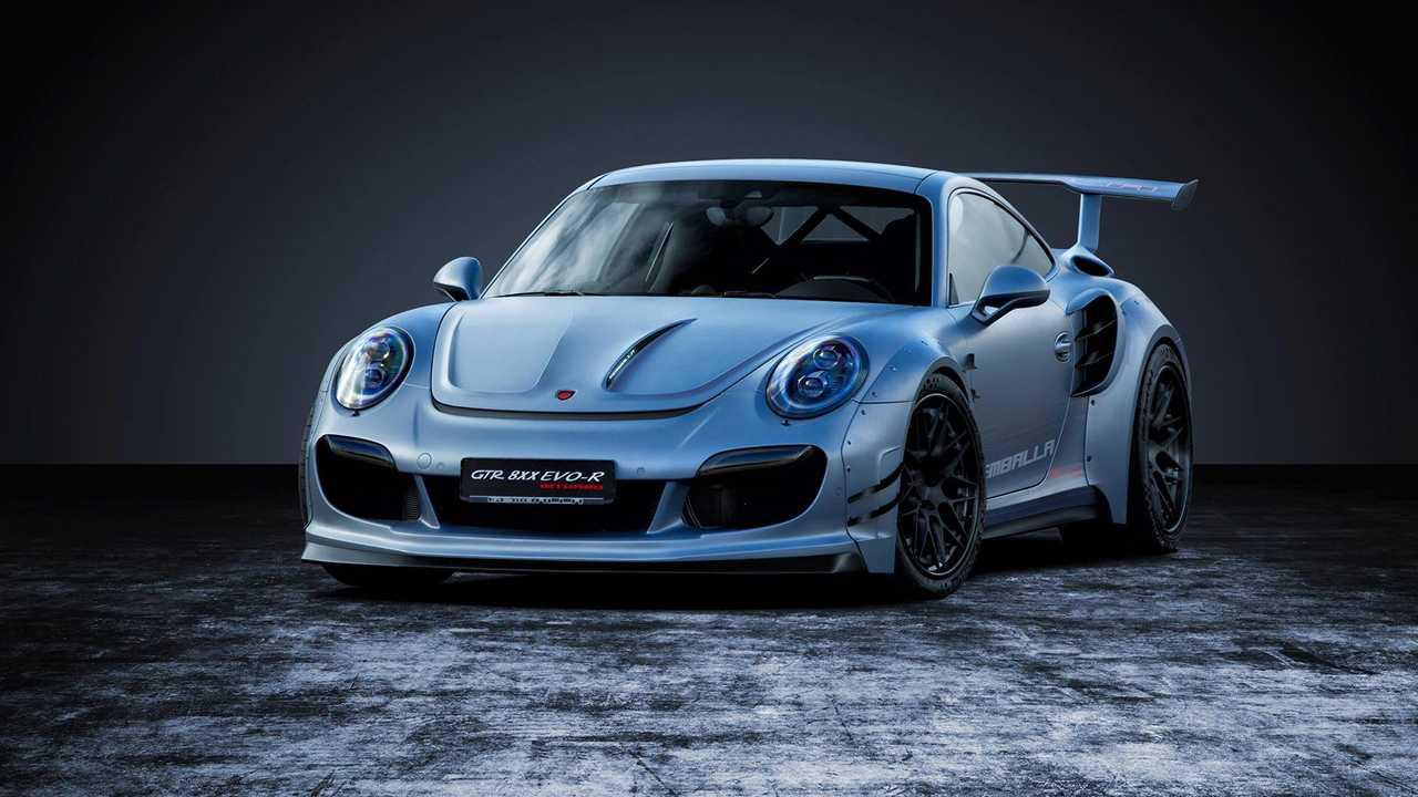 Porsche 911 Turbo Gemballa GTR 8XX Evo-R