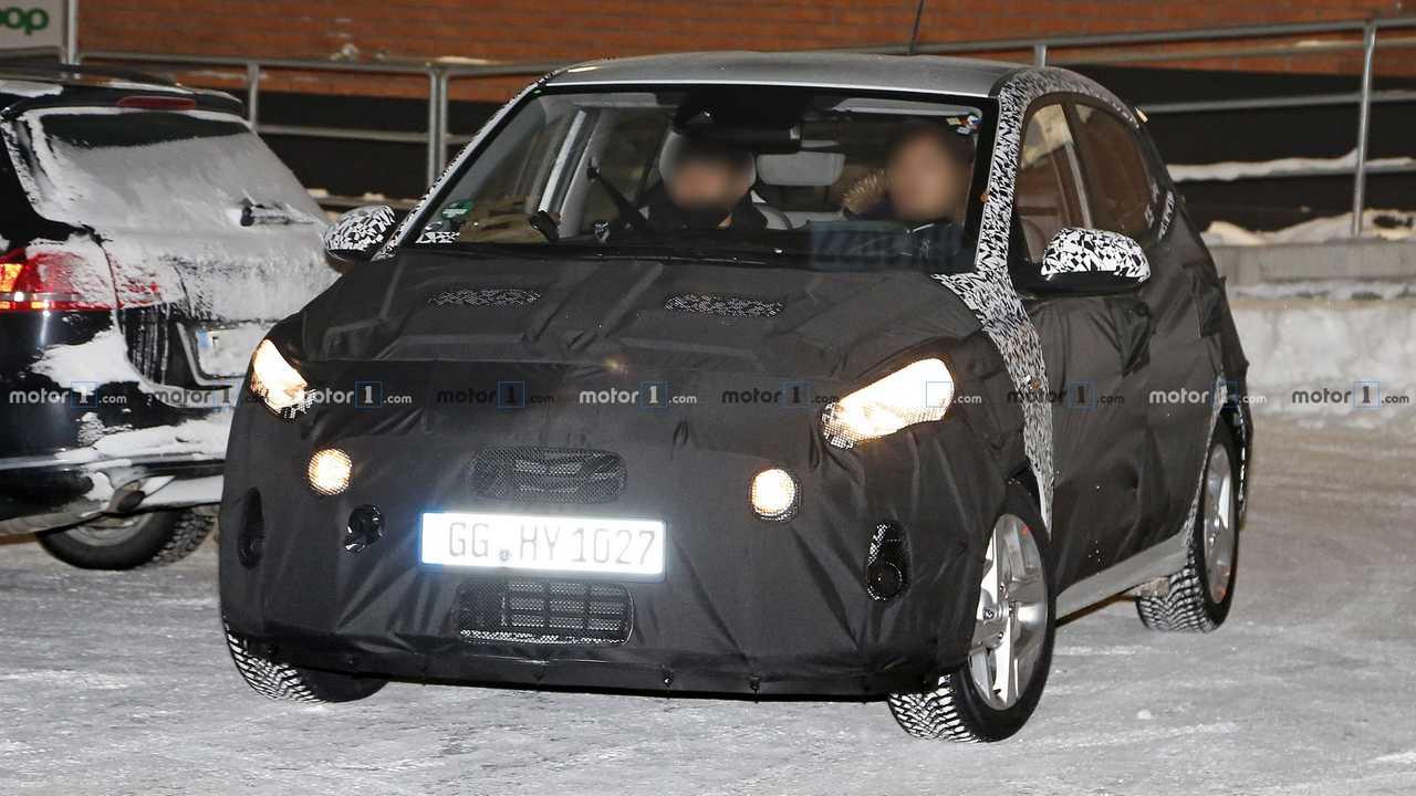 Hyundai i10 Spionagefoto