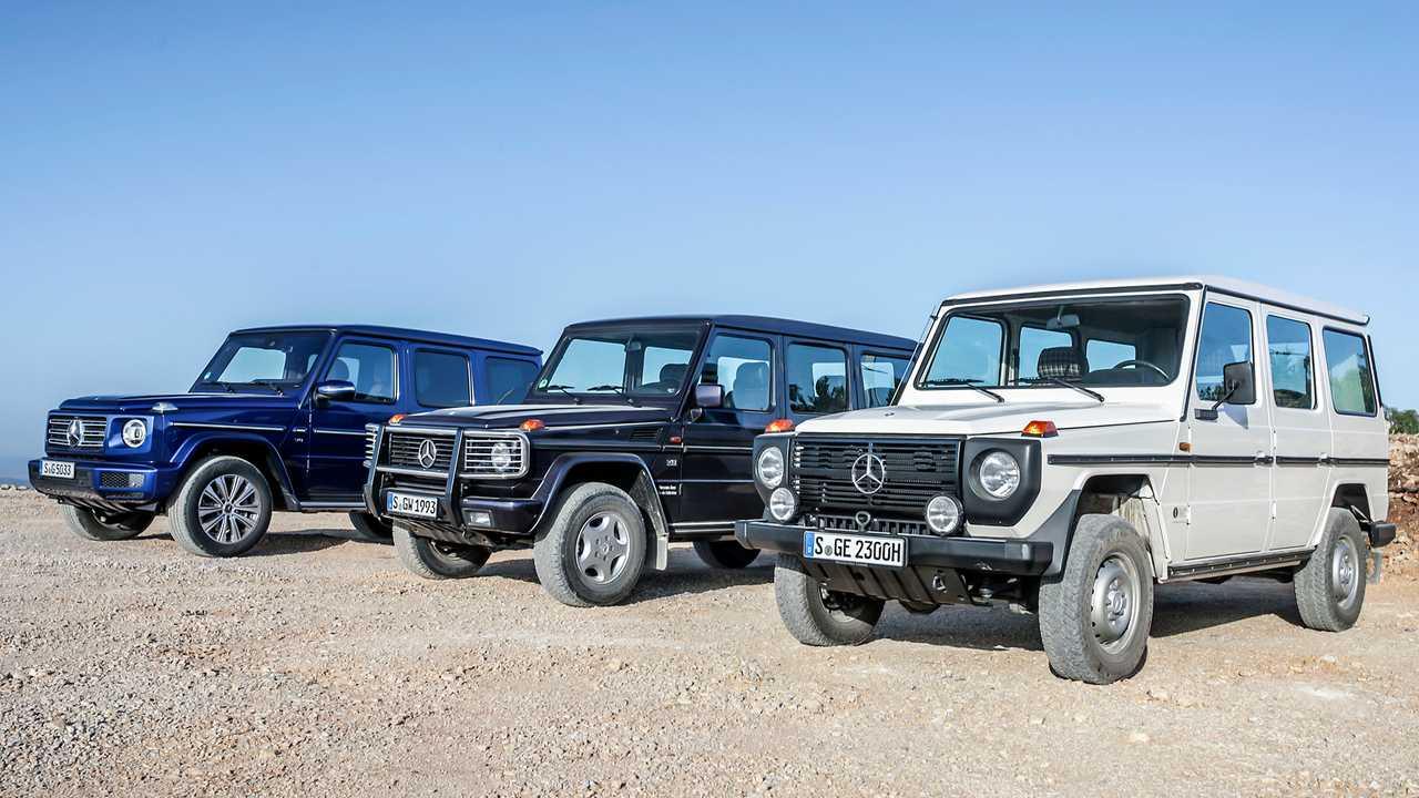 Mercedes G-Klasse Historie 40 Jahre