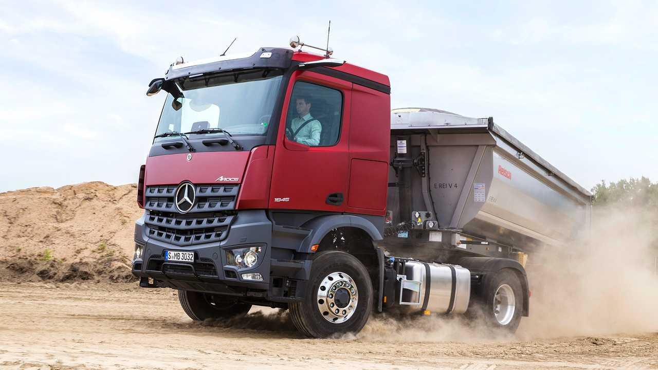 Daimler Nutzfahrzeuge auf der Bauma 2019