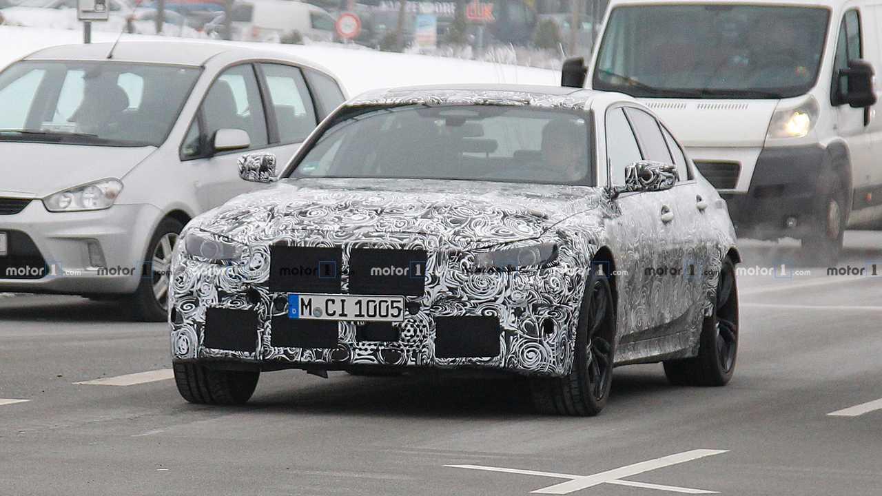 BMW M3 2020: Neue Erlkönigbilder