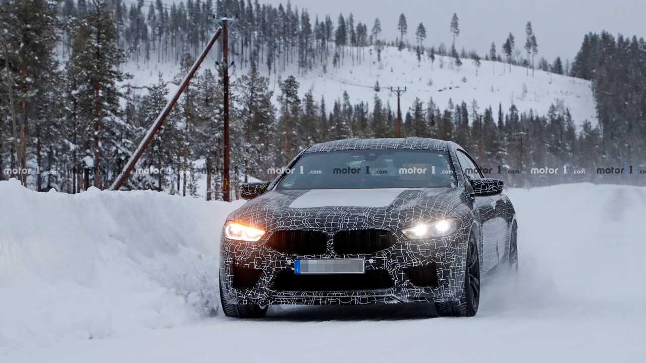 BMW M8 Gran Coupé 2020 Erlkönig