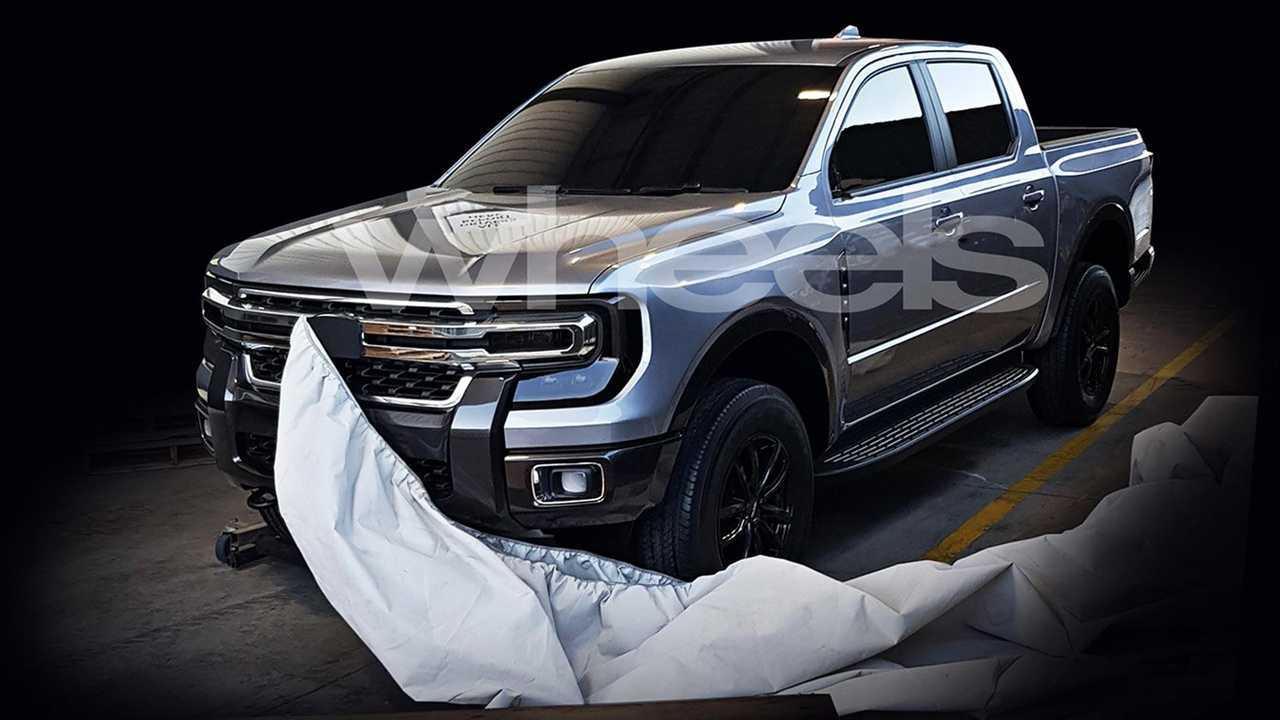 Next-Gen Ford Ranger Leak