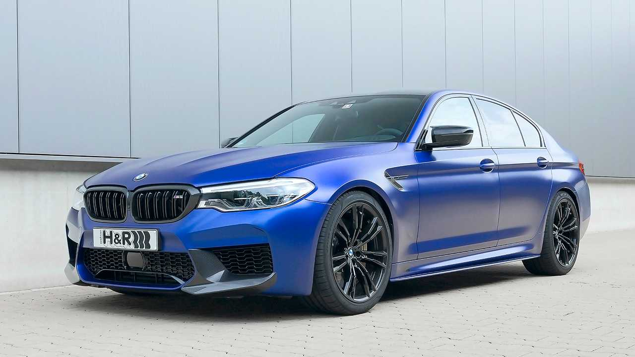 H & R BMW M5 Competition